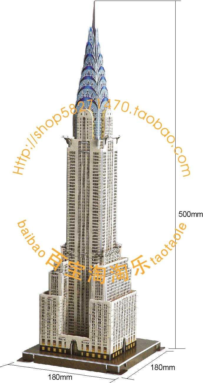 美国克莱斯勒大厦 此系列产品致力于: 锻炼整体和细节的控制高清图片